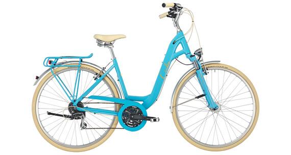 Cube Elly Ride - Vélo de ville - Easy Entry turquoise